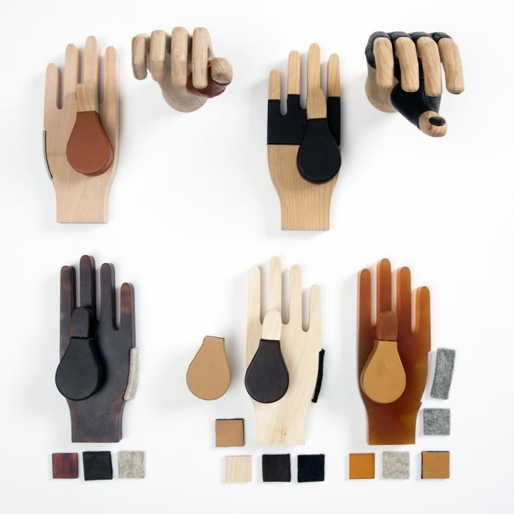 Prototypes of prosthetic hands