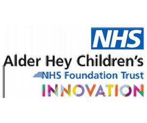 logo for alder hey children's hospital